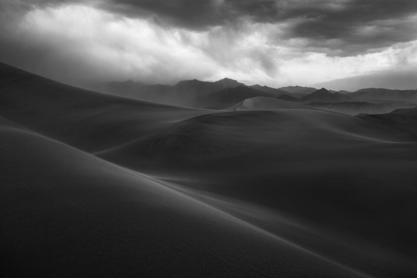 Sandstorm in Death Valley