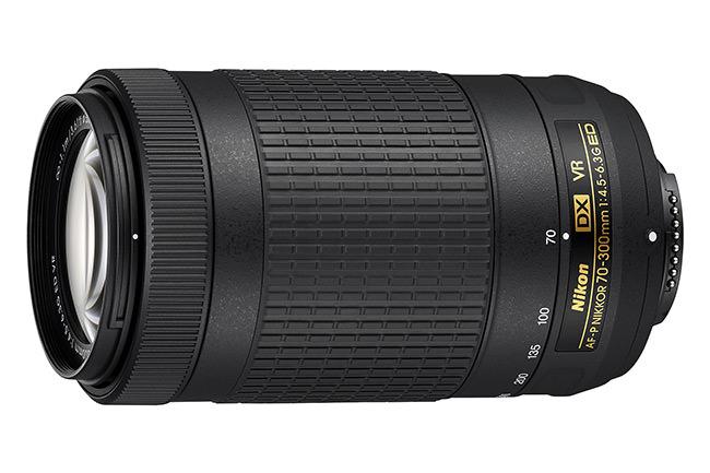 Nikon 70-300mm f/4.5-6.3G DX VR AF-P