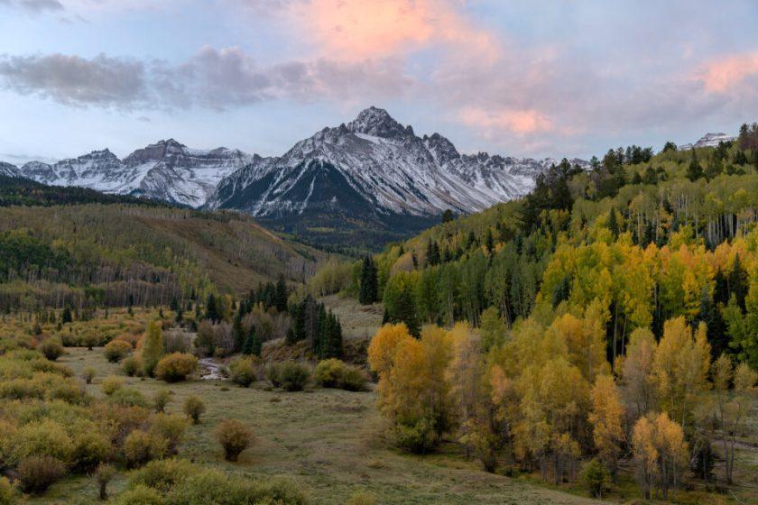 Mt Sneffels at Fall