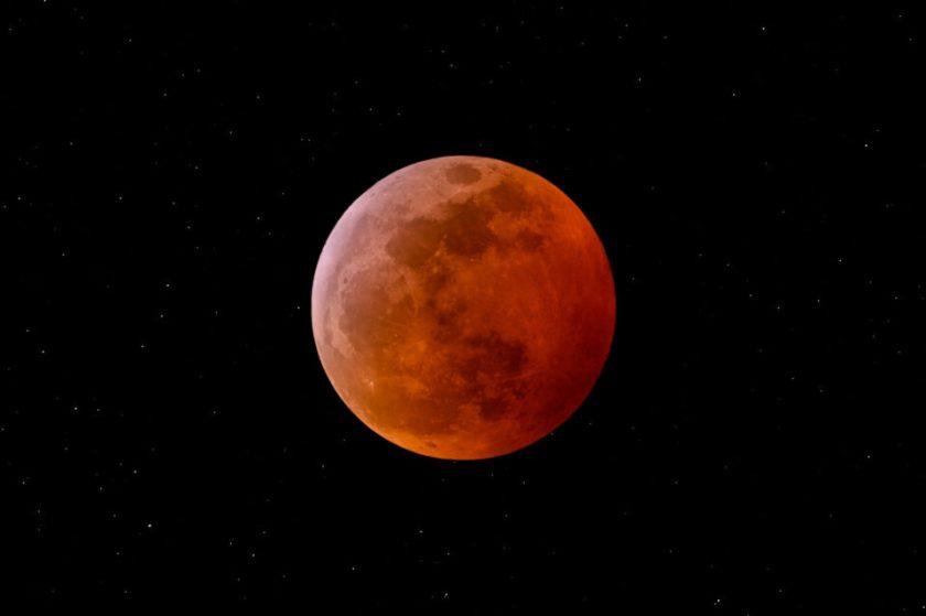 Supermoon Total Lunar Eclipse