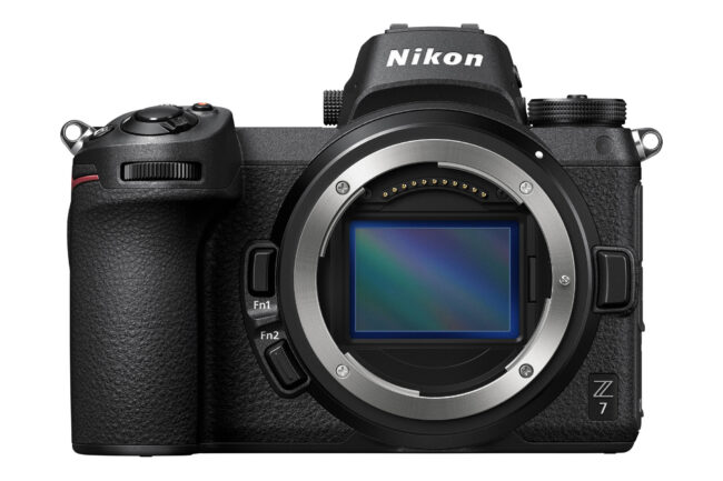 The Z7 is Nikon's high-resolution 45-megapixel mirrorless camera.