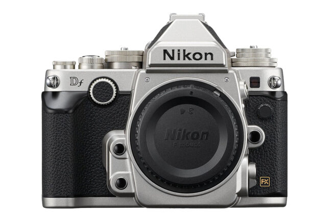 The Nikon Df is a 16-megapixel retro DSLR announced in November 2013. It is starting to look outdated today but still has a loyal following.