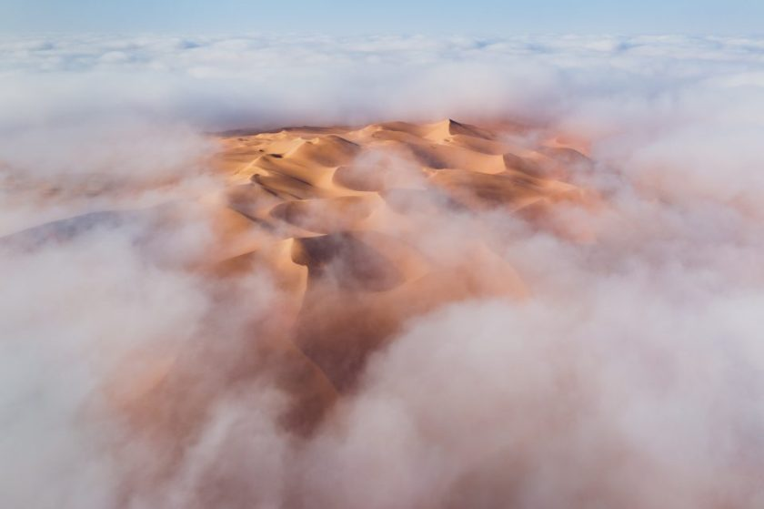 5 Liwa Desert Abu Dhabi with Fog