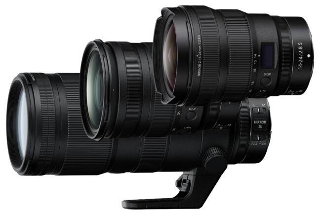 Nikon Z Lens Trinity