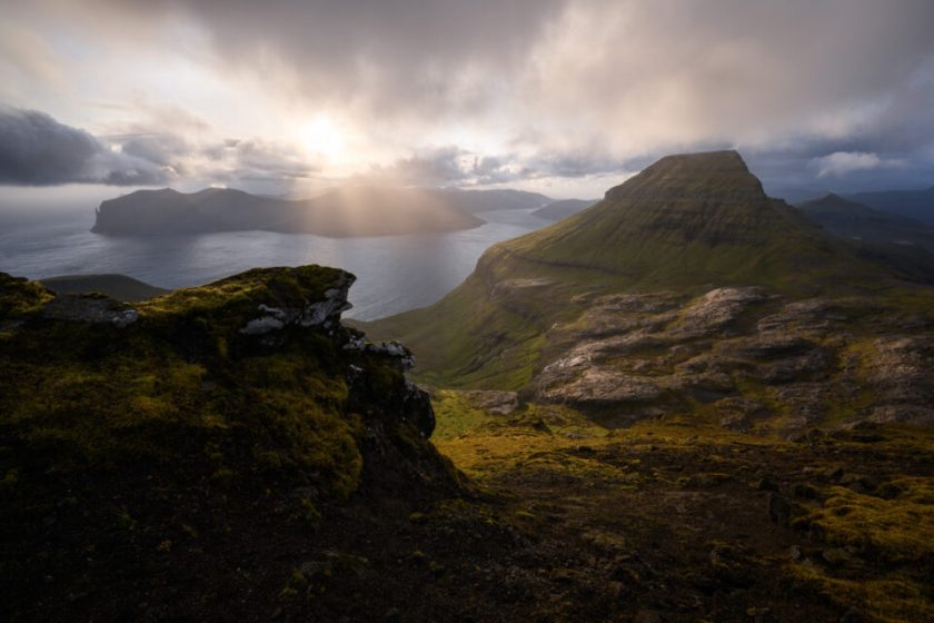 Sornfelli Overlook Faroe Islands
