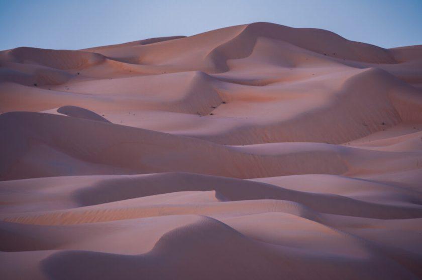 Sharp landscape photo at 60 second exposure