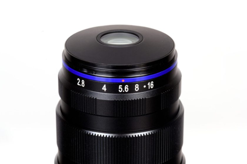Laowa 25mm f2.8 Macro Aperture Ring