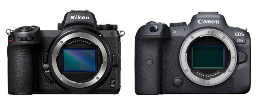 Nikon Z6 II vs Canon EOS R6