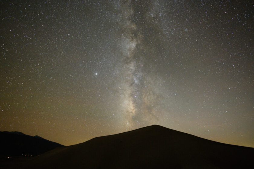 Unedited, Uncropped Milky Way photo