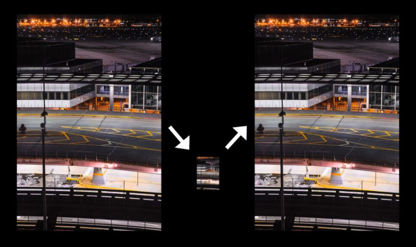 Resizing a Smart Object in Photoshop