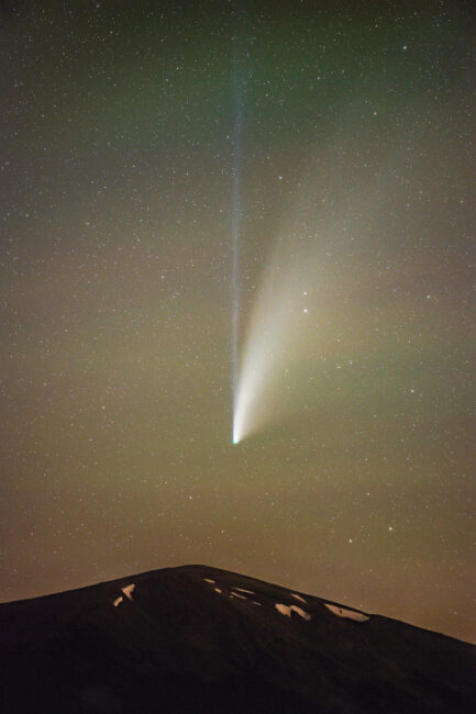 Comet Neowise Zoomed in
