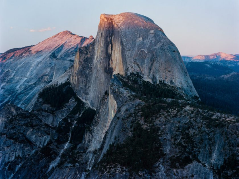 Half Dome Sunset from Glacier Point Yosemite