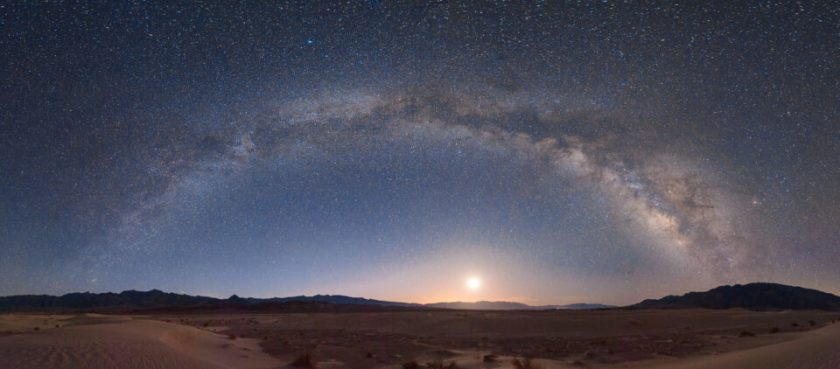Milky Way Panorama Arc