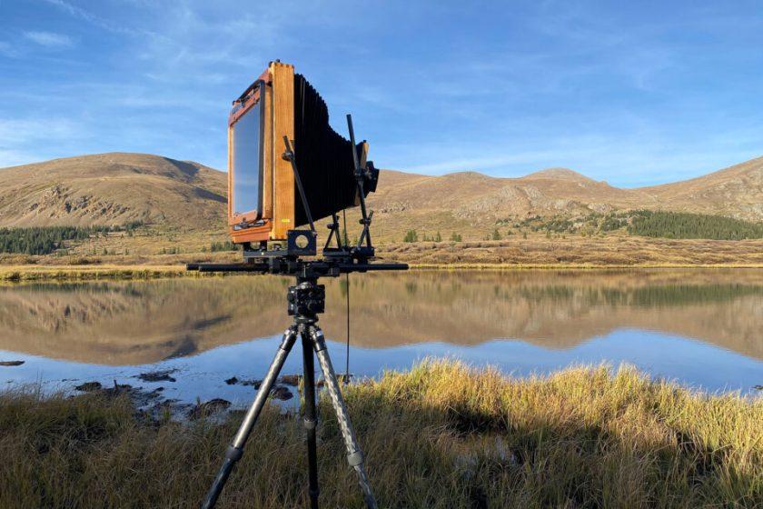 11x14 camera in the field