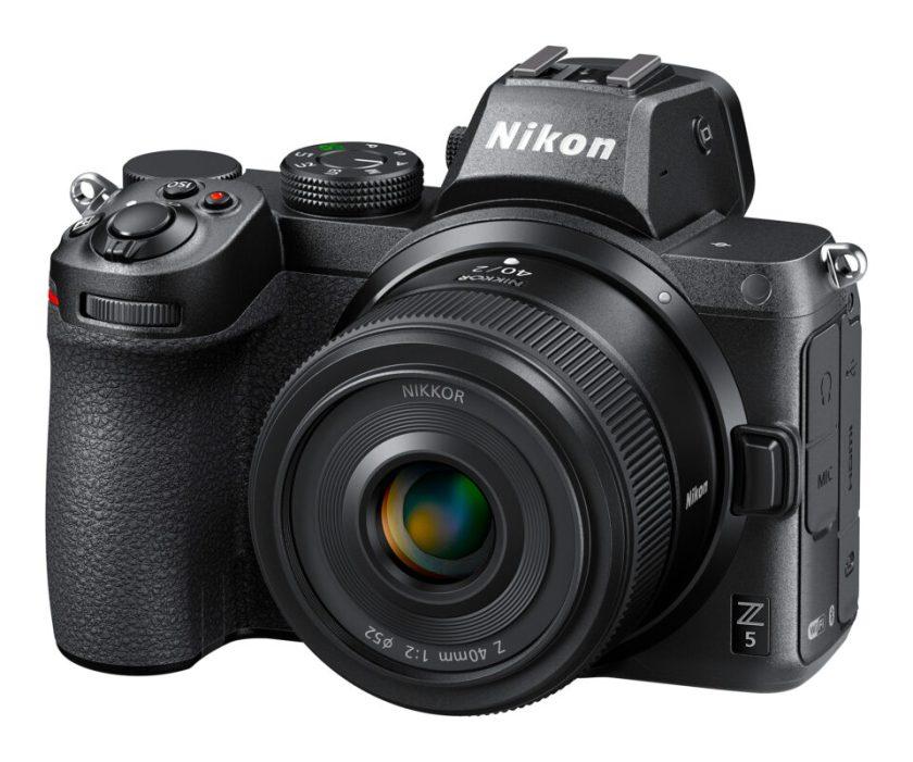 Nikon Z 40mm f2 with Nikon Z5 Product Photo