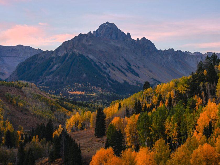2018 Mt Sneffels Overlook Fall Colors