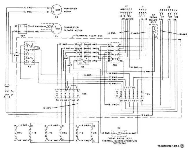 figure 16 air conditioner wiring diagram sheet 2 of 3