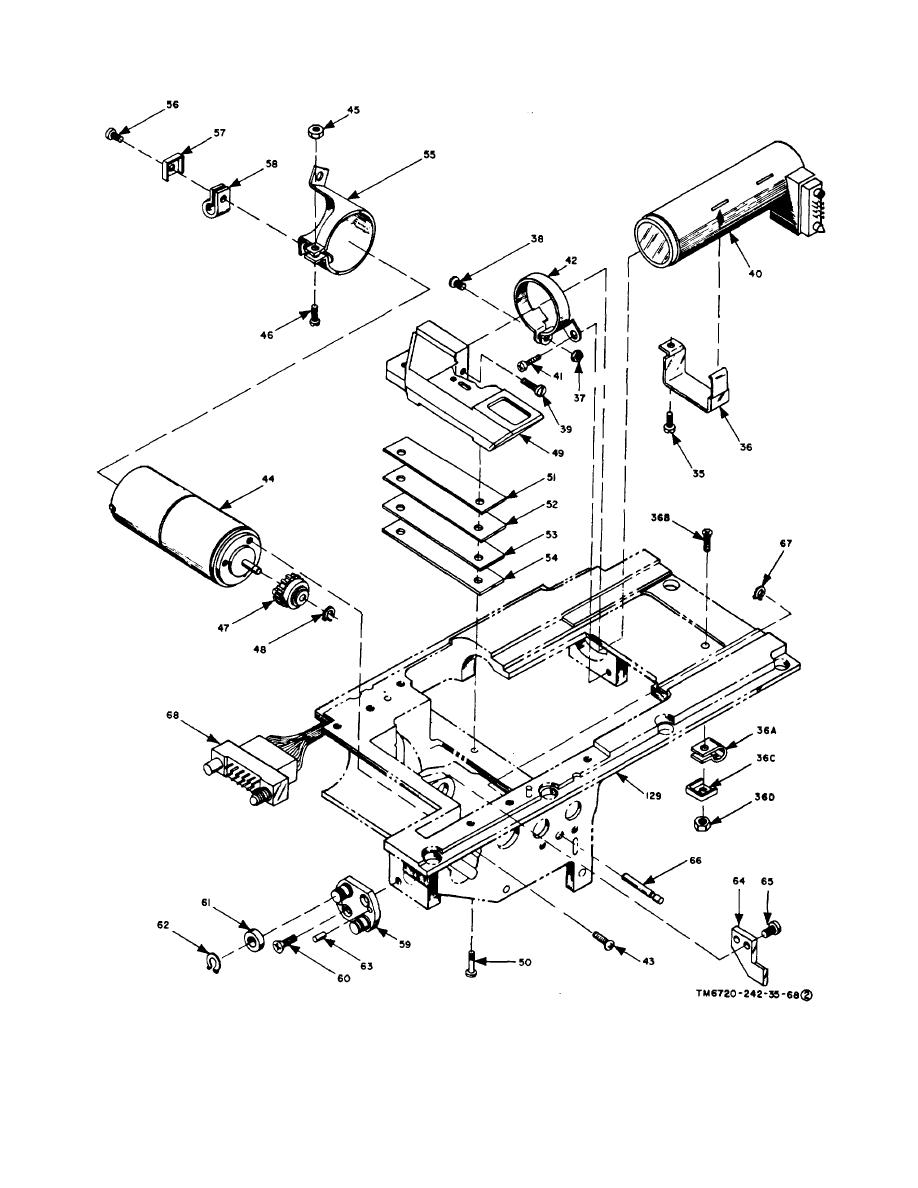 Figure 3-3. Aec assembly, exploded view (part 2 of 4).