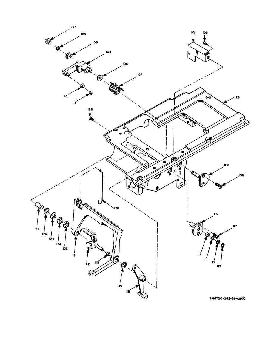 Figure 3-3. Aec assembly, exploded view (part 4 of 4)