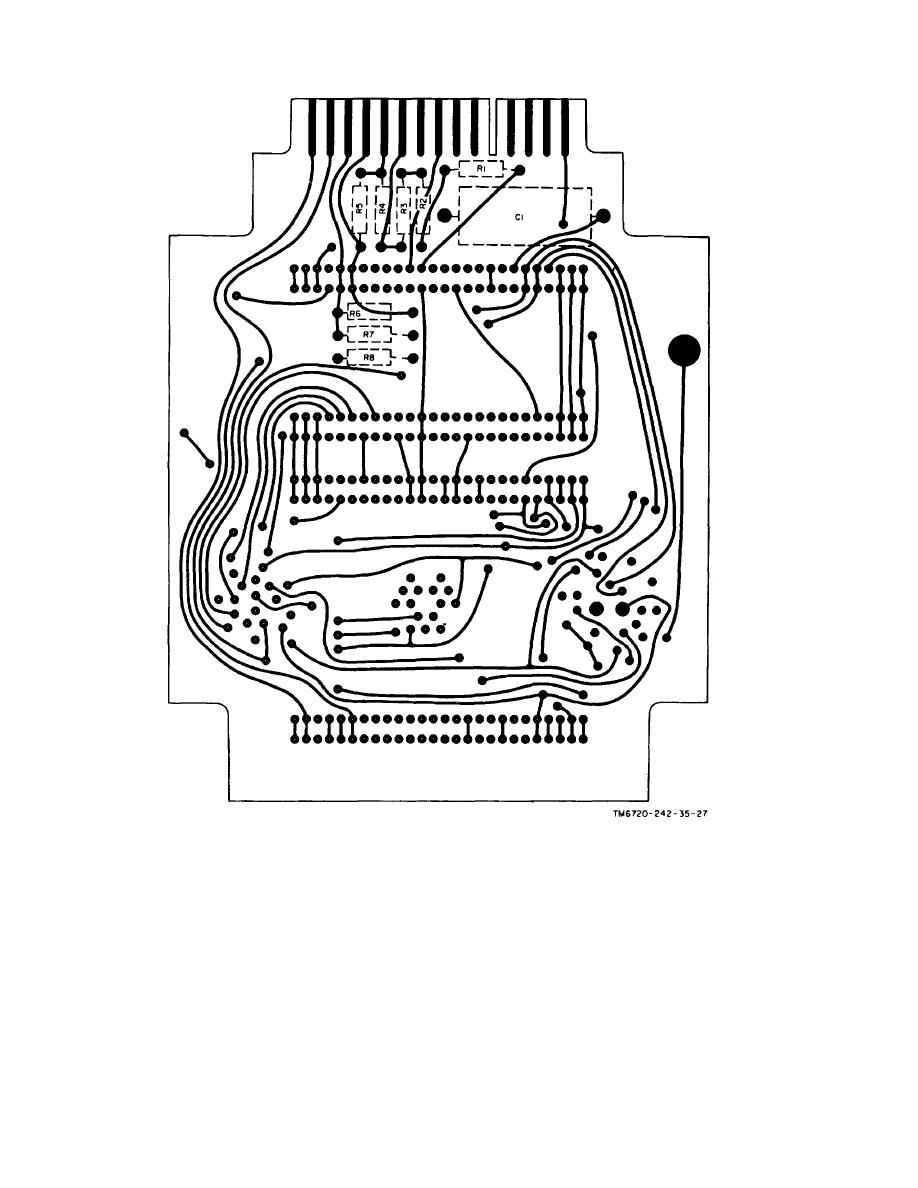 Figure 6-29. Interconnecting board assembly, wiring