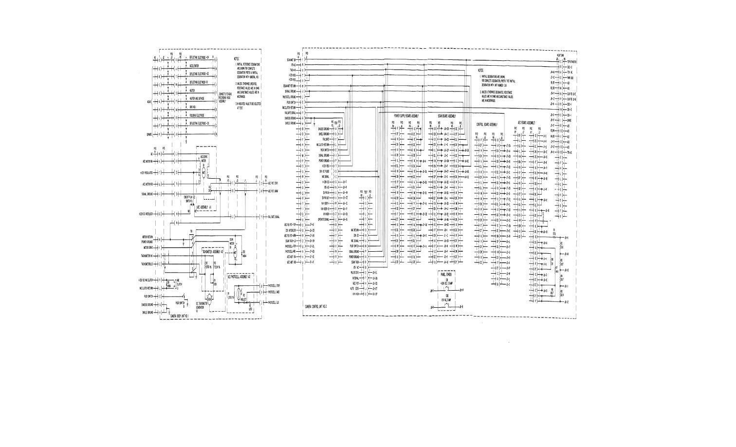 Figure 6 21 Camera Overall Schematic Diagram Part 1 Of 3