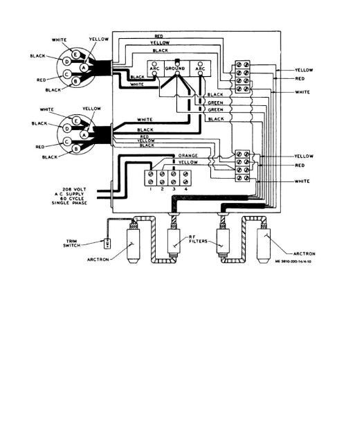 small resolution of arc lamp transformer wiring diagram