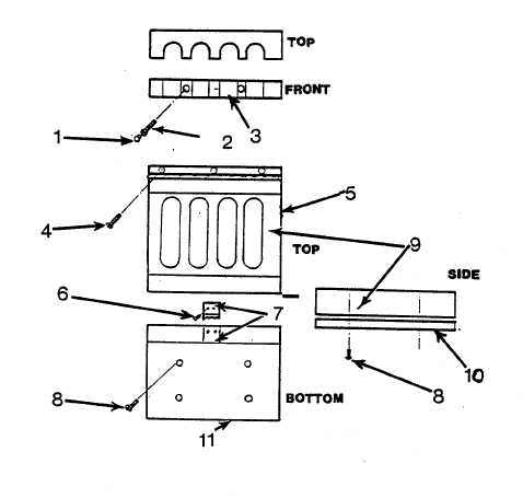 Figure 4-28. Repair Rifle Rack Assembly
