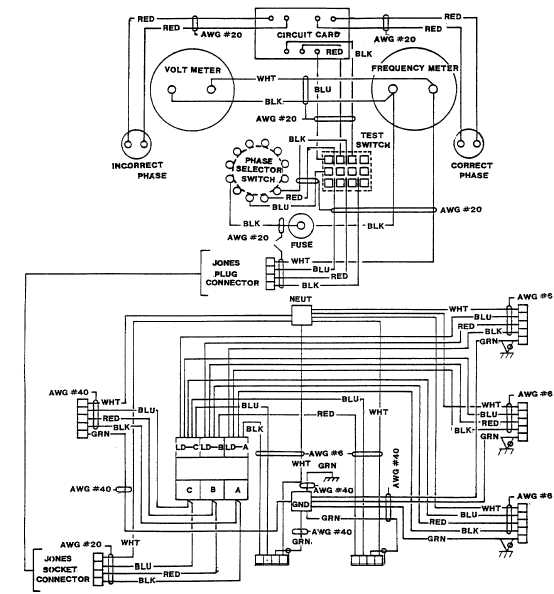 FO-1 Power Distribution Box Wiring Diagram