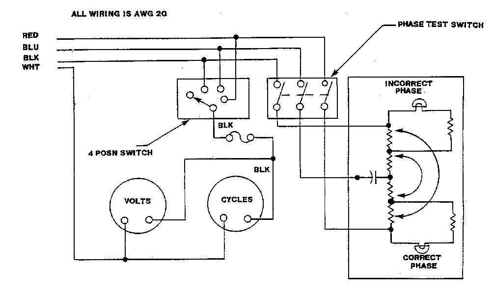 FO 2 Phase Monitor Meter Wiring Diagram