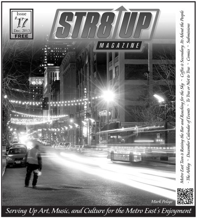 Straight Up Magazine December issue