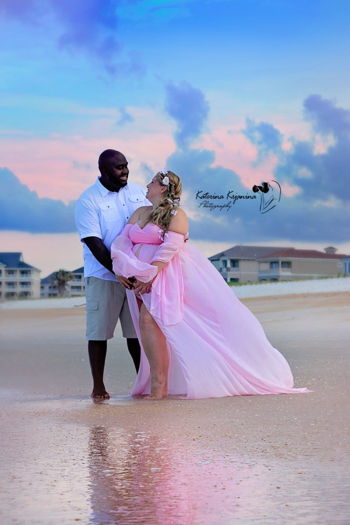 Maternity Beach Photographer Palm Coast Florida