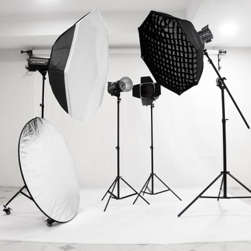 Professional photography services in studio and outdoor photography