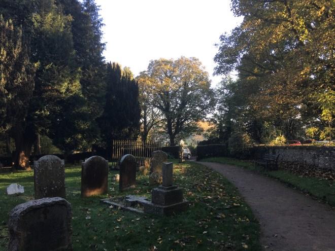 Chaldon Churchyard