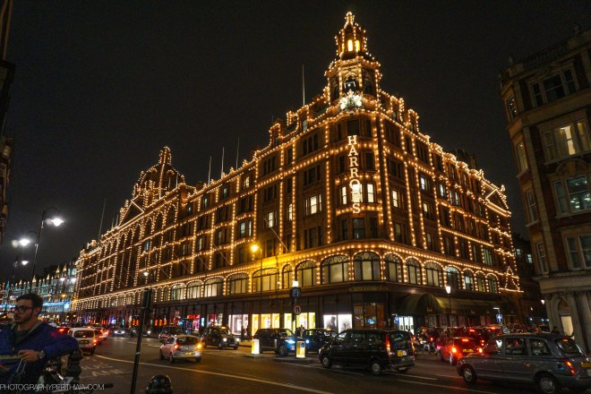 Another view of Harrods