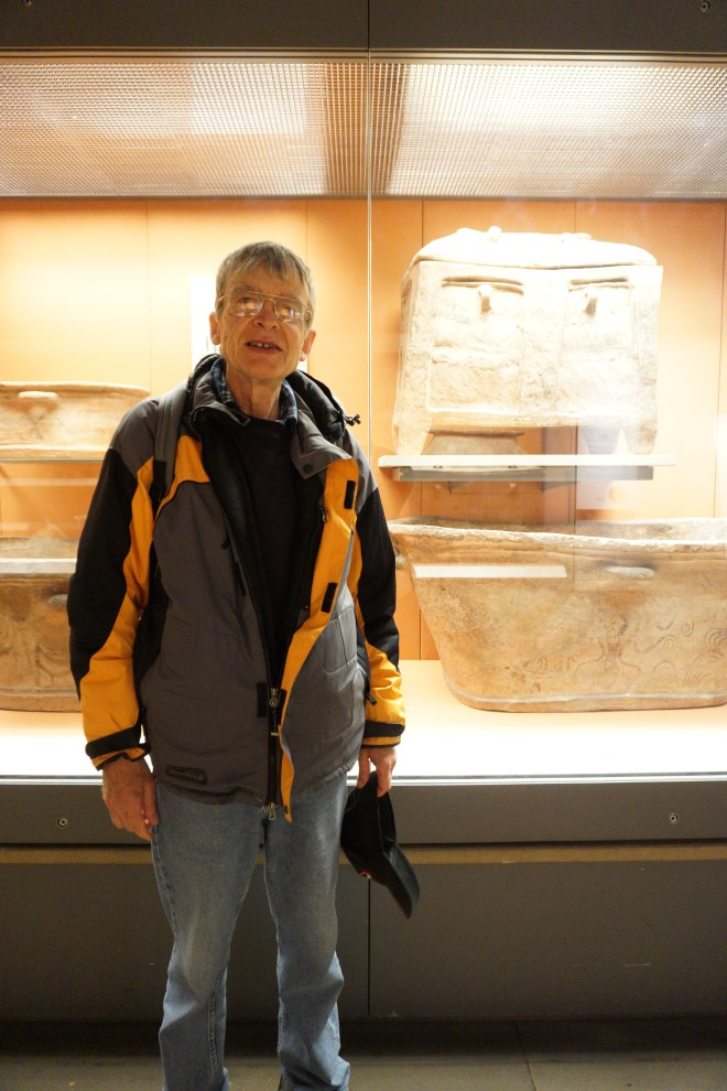Stephen at the British Museum