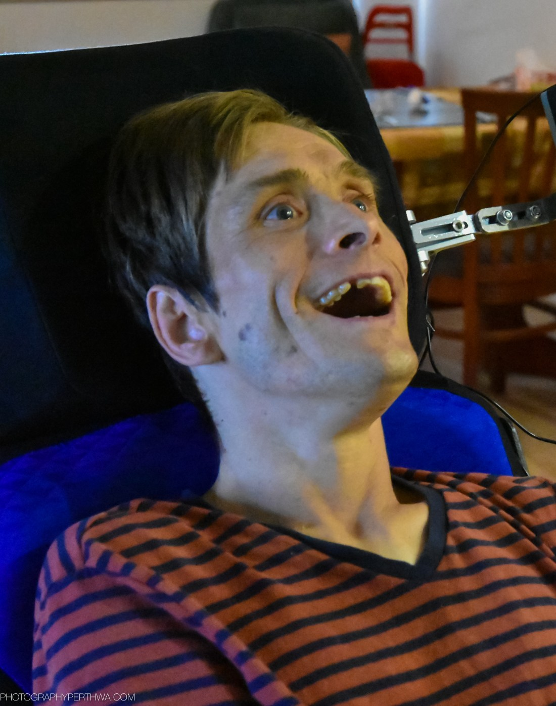 Matt smiling