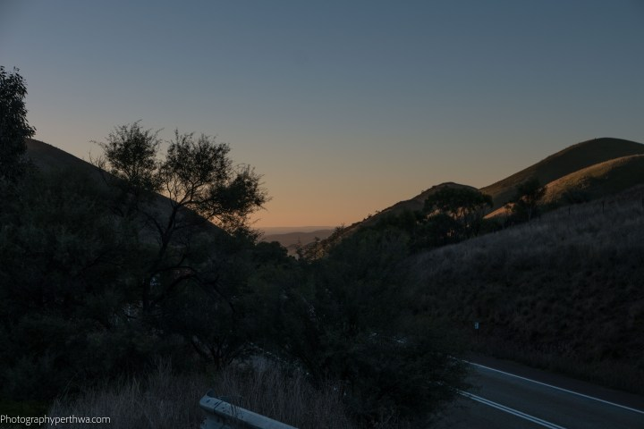 Evening at Horrocks Pass Rest Stop (1 of 1)