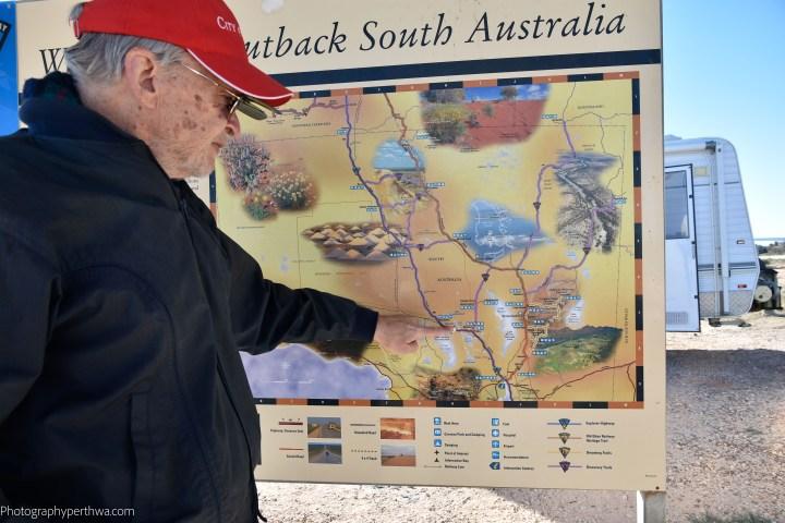 South Australia lake map (1 of 1)