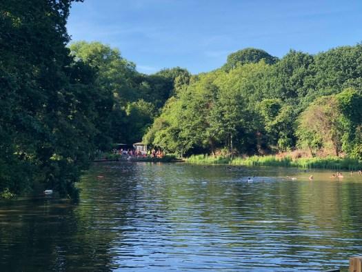 Hampstead Heath swimming - 1
