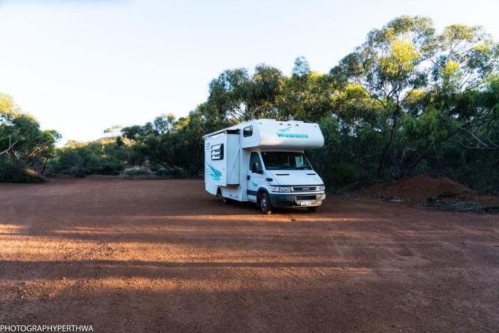 Camping at The Gap near Mt O'Brien (1 of 1)