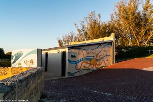 Mullaloo Beach toilet art (1 of 1)