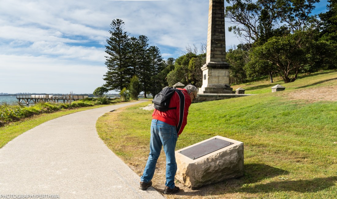 site of Captain Cook's landing (1 of 1)