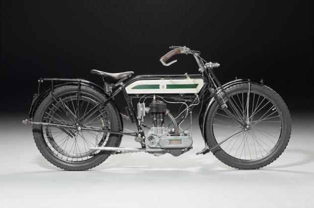 1914 TRIUMPH 3½HP MODEL D TT REPLICA