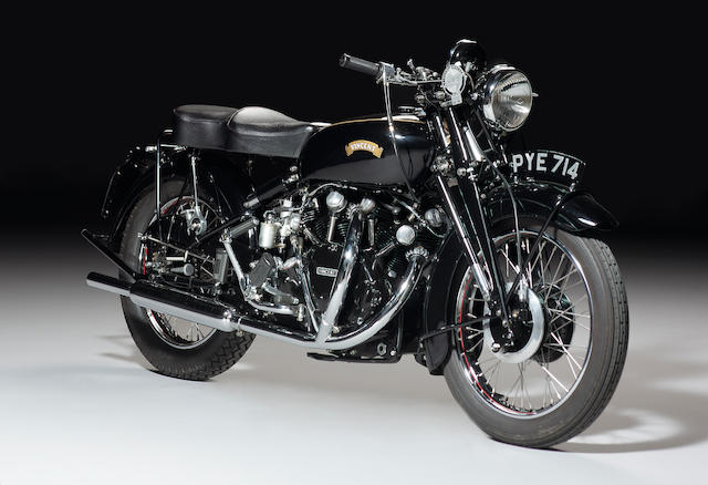 1955 VINCENT 998CC BLACK SHADOW SERIES C
