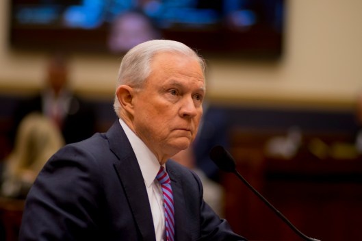 Attorney General Jeff Sessions testifies during House hearing10