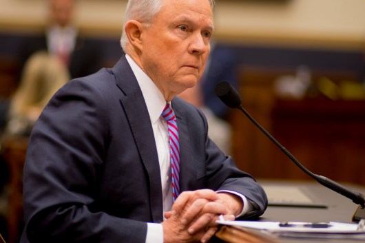 Attorney General Jeff Sessions testifies during House hearing11