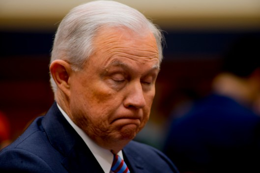 Attorney General Jeff Sessions testifies during House hearing17