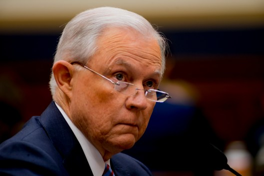 Attorney General Jeff Sessions testifies during House hearing18