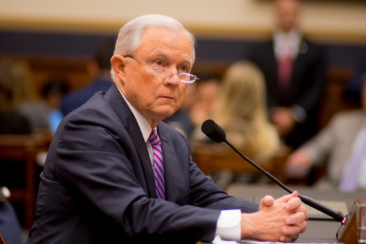 Attorney General Jeff Sessions testifies during House hearing21