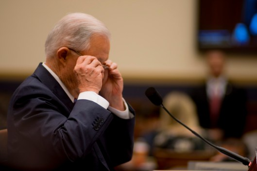 Attorney General Jeff Sessions testifies during House hearing27